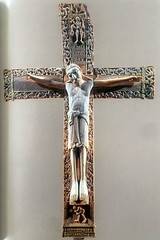 Ivory, gold and jet Crucifix, donation of the King of  Leon Fernando I and the Queen Sancha to San Isidoro de Leon Church , 1063 (mike catalonian) Tags: church sanisidorodeleon donation xicentury 1063 crucifix leon queensancha kingfernandoi jet gold ivory