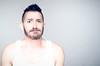 (Damien Cox) Tags: uk gay portrait selfportrait man male me face self ego myself beard eyes nikon masculine ears moi vest autorretrato scruff stubble i damiencox damiencoxcouk