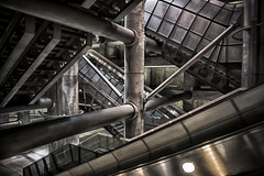 Belly of the Beast (Nick.Richards) Tags: westminster westminsterstation london londonunderground tube underground hdr hdrefex lightroom architecture supports engineering nikon nikon1685 nickrichards nikond7100 nikefex d7100 bellyofthebeast
