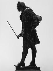Statue de Guiseppe Tartini / Piran / Pirano / Istrie / Slovnie / 19 aot 2016 (leonmul68) Tags: piran pirano istrie slovnie rpubliquedevenise tartini guiseppetartini musiquebaroque silhouette
