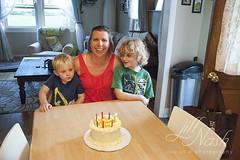 245/366 (grilljam) Tags: birthday mine summer september2016 agreatstarttoawonderfulmonth carrotcake candles glutenfreebaby ewan 7yrs seamus 4yrs 366days
