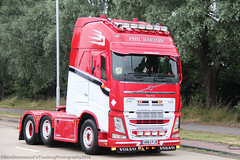 Phil Barton's Dutch Style Volvo FH 500 (Ben Greenwood's Trucking Photography) Tags: phil bartons dutch style volvo fh 500