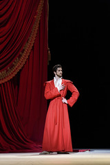 Reece Clarke as Dr Samuel-John Pozzi in Strapless, The Royal Ballet  2016 ROH. Photograph by Bill Cooper (Royal Opera House Covent Garden) Tags: strapless production productionphoto bychristopherwheeldon actionshot theroyalballet reececlarke