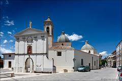 baunei (heavenuphere) Tags: baunei ogliastra sardegna sardinia sardinie italia italy europe island church white building architecture blue sky 1635mm