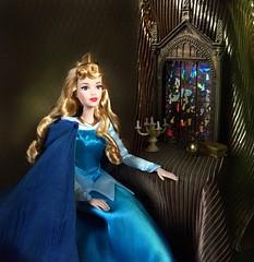 The Birthday Prophecy (Richard Zimmons) Tags: disneystore mattel signature maleficent briarrose barbie doll waltdisney princess aurora