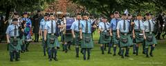 Pipe Band (FotoFling Scotland) Tags: event glasgow glasgowgreen scotland worldpipebandchampionships kilt meninkilts pipeband scottish