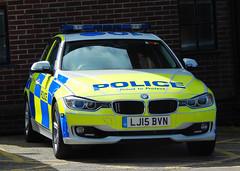 LJ15BVN (Cobalt271) Tags: lj15bvn northumbria police bmw 330d xdrive auto saloon motor patrols traffic vehicle proud to protect livery