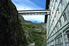 Dixence (bulbocode909) Tags: valais suisse dixence montagnes nature paysages htel restaurants btiments vert bleu