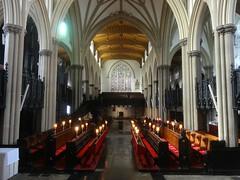 [43931] St Peter, Leeds : Looking West (Budby) Tags: leeds church minster westyorkshire