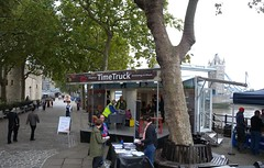 Time Truck at the Tower (Thames Discovery Programme) Tags: thamesdiscoveryprogramme toweroflondon riverthames london community archaeology foreshore fth01