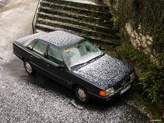 Audi 100 2.2 e (juandelux) Tags: audi10022e audi coche car granizada automovil berlina brens