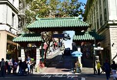 Gate to Chinatown, San Francisco 096 (longbachnguyen) Tags: chinatown sanfrancisco coittower california usa grantave