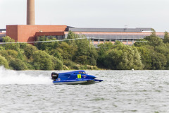 IMG_7427 (Roger Brown (General)) Tags: stewartby powerboat racing club stage for 2016 uim f2 f4 gt15 european championships high octane boating bonanza top racers from across europebedfordshire village battle 3 championship crowns over two day competition 24th september roger brown canon 7d speed boat inland lake