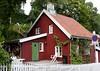 Red wooden house at Telthusbakken (Tina K) Tags: oslo norway trehus hus rødt koselig