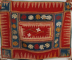 ANTIQUE BANJARA GHODIYU OR CRADLE HAMMOCK CLOTH (wovensouls) Tags: textile cloth cradle banjara tribe gypsy cradlecloth hammock cowrie shell embroidery handstitched antique vintage art atk156 156 gujarat india