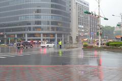 A Glimpse of Taipei  (tsubasa8336) Tags:   taiwan taipei rain   road crosssection