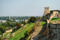View from the Kalemegdan Fortress, Belgrade, Serbia (KWaterhouse) Tags: vista fortress walls kalemegdanfortress belgrade serbia sky nikond5300