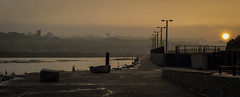 Another Day Ends Over The Quay (Nick.Richards) Tags: northquayhayle northquay hayle cornwall stunychurch sunset warm harbour misty nikon nikon1685 nickrichards nikond7100 nikefex lightroom d7100