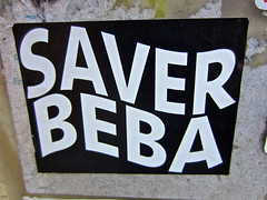 Saver Beba, New York, NY (Robby Virus) Tags: newyork newyorkcity ny nyc city manhattan bigapple saver beba sticker slap