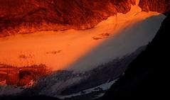 Edge of Sunset (Dru!) Tags: devilsrange sunset alpenglow glacier asgard ice valhalla valhallas valhallapp valhallaprovincialpark kootenays kootenay westkootenays slocan bc britishcolumbia canada orange