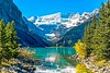 Lake Louise (R. Kent Squires) Tags: lakelouise banffnationalpark albertacanada lake water mountains canadianrockies snow glacialflour