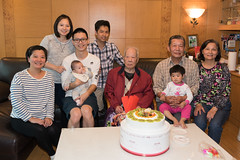 Wish Grandpa A Happy Birthday 1 (camike) Tags: 28mmf18g bil d750 lenses auntie birthday cousin family grandpa nephew niece portrait uncle