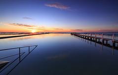 Photographing the sunrise (dslrnut) Tags: dslrnut narrabeen rock pool
