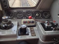 31 130 Calder Hall Power Station .[ Loco controls ] .  Avon Valley Railway . 17/9/16 (busmothy) Tags: 31130 brush sulzer avr avonvalleyrailway bitton present dieseldrivingexperience controls