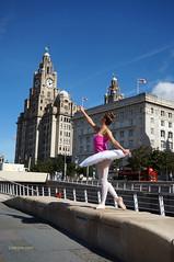 DSC06299 (liverpix) Tags: cleo dog performing anthonywalsh photowalk 500px liverpool pierhead liverbuilding ballerina ballet