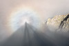Illusions of grandness (George Pancescu) Tags: nikon d810 70200mm landscape retezat massif romania mountain nature natural glory gloryeffect gloryphenomenon brockenspectre light clouds rock outdoor outstandingromanianphotographers