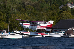 Private Maule MT-7-260 N43288 (jbp274) Tags: 52b greenvilleseaplaneflyin greenville mooseheadlake flyin seaplane airplanes lake water floatplane maule m7