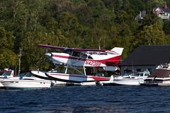 Private Maule MT-7-260 N43288 (jbp274) Tags: 52b greenvilleseaplaneflyin greenville mooseheadlake flyin seaplane airplanes lake water floatplane maule m7