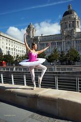 DSC06314 (liverpix) Tags: cleo dog performing anthonywalsh photowalk 500px liverpool pierhead liverbuilding ballerina ballet