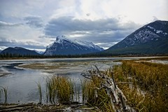 Mount Rundle on a Cold Fall Day (Gord Hunter) Tags: alberta banff rundle