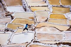 Salinas de Maras (pietkagab) Tags: maras salinas salinasdemaras peru cusco south america salt ponds salar work worker white color travel trip sightseeing sacredvalley piotrgaborek pietkagab photography pentax pentaxk5ii k5 terraces