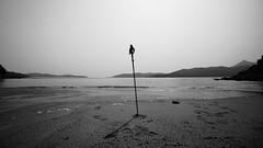 Death Stranding (Jukai The Pilgrim) Tags: sony a6000 ilce6000 sel1018 wide black white colors landscape seascape sky beach sand hills mountains hiking trekking concept art summer lonesome solitude outdoor hongkong peaceful nature national naturaleza gloomy light shadow licht schatten cinematic