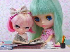 Books (Leslieshappyheart) Tags: yellowmarshmallow misssallyrice books kiki sally