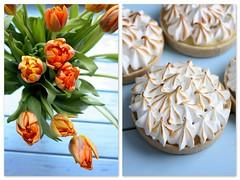 Tart with lemon curd and merengue (Sima Fomina) Tags: tart lemon curd cream merengue