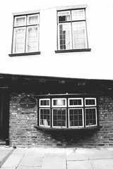 The Shrine of the Saint Margret Clitherow (Matthew-King) Tags: york north yorkshire shambles street view shine saint margret clitherow black white monochrome