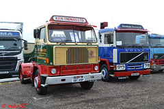 Volvo F88 & F12 reg OBT 419P & B960 WCR (erfmike51) Tags: volvof88 volvof12 artic truck lorry kenthomas swedefest2016