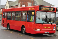 D&G Bus Dennis Dart SLF/Plaxton Pointer 2 194 (Y265 YBC) (john-s-91) Tags: dgbus dennisdartslf plaxtonpointer2 194 y265ybc newcastleunderlyme potteriesroute17