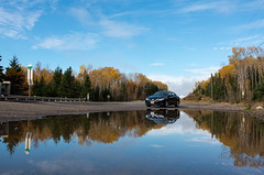 Appreciate those moments (_Matt_T_) Tags: autumn jackpineriver lakesuperior ontario reflection smcpda1224mmf40edalif puddle 468