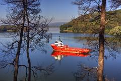 La Estancilla, Valdivia (Cristian Alczar C.) Tags: estancilla valdivia niebla ro river barco ship vessel losros chile