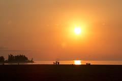 Morning Glow (cjb_photography) Tags: morning glow toronto torontolife torontophoto torontoclicks beach woodbine sunshine rising orange silhouette