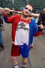 DSC_0347 (Randsom) Tags: nycc 2016 newyorkcomiccon nycomiccon javitscenter october nyc newyorkcity cosplay costume fun comicbooks comicconvention dccomics batmanfamily harleyquinn harlequin villain rogue supervillain genderbender