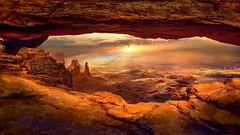 Mesa Arch (shchukin) Tags: mesaarch canyonlands arch utah usa landscape sunset shchukin nikond5200 sigma
