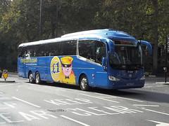 YN14FVR (47604) Tags: yn14fvr freestones coach bus dereham embankment megabus