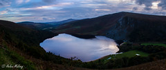Lough Tay 16 October 16 1 (Helen Mulvey) Tags: lought tay wicklow ireland lake water height panorama sunset outdoor landscape rural dogwood52 dogwoodweek41 landscapegethigh