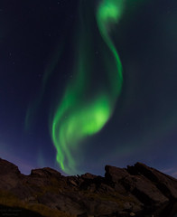 Aurora over Vard. (Kjell75) Tags: vard varanger norway auroraborealis nature outdoor sky water visitnorway visitfinnmark visitvaranger ngc pentaxart northernnorway