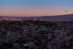Cappadocia (Gail Fletcher) Tags: cappadocia turkey sunrise airballoon history rockformations landscape mountains sun
